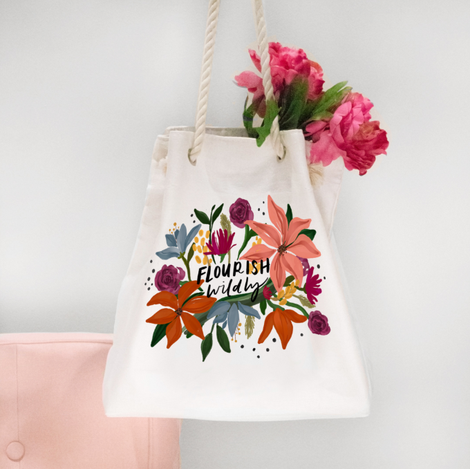 Flourish Wildly Weekender Bag