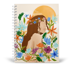 In Full Bloom Notebook