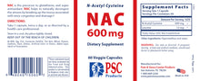 Load image into Gallery viewer, NAC (N-Acetyl Cysteine)