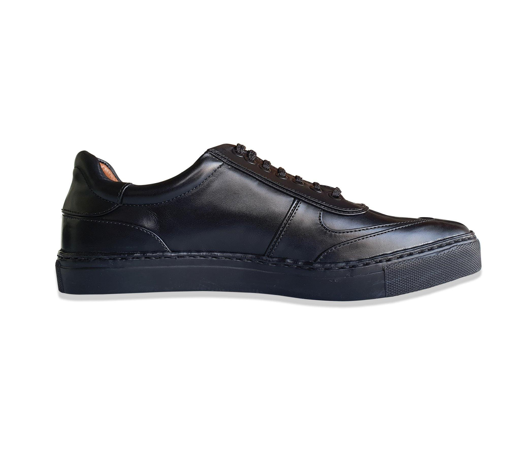 All-Rounder -  Sneakers in Black - TLC - The Leather Crafts