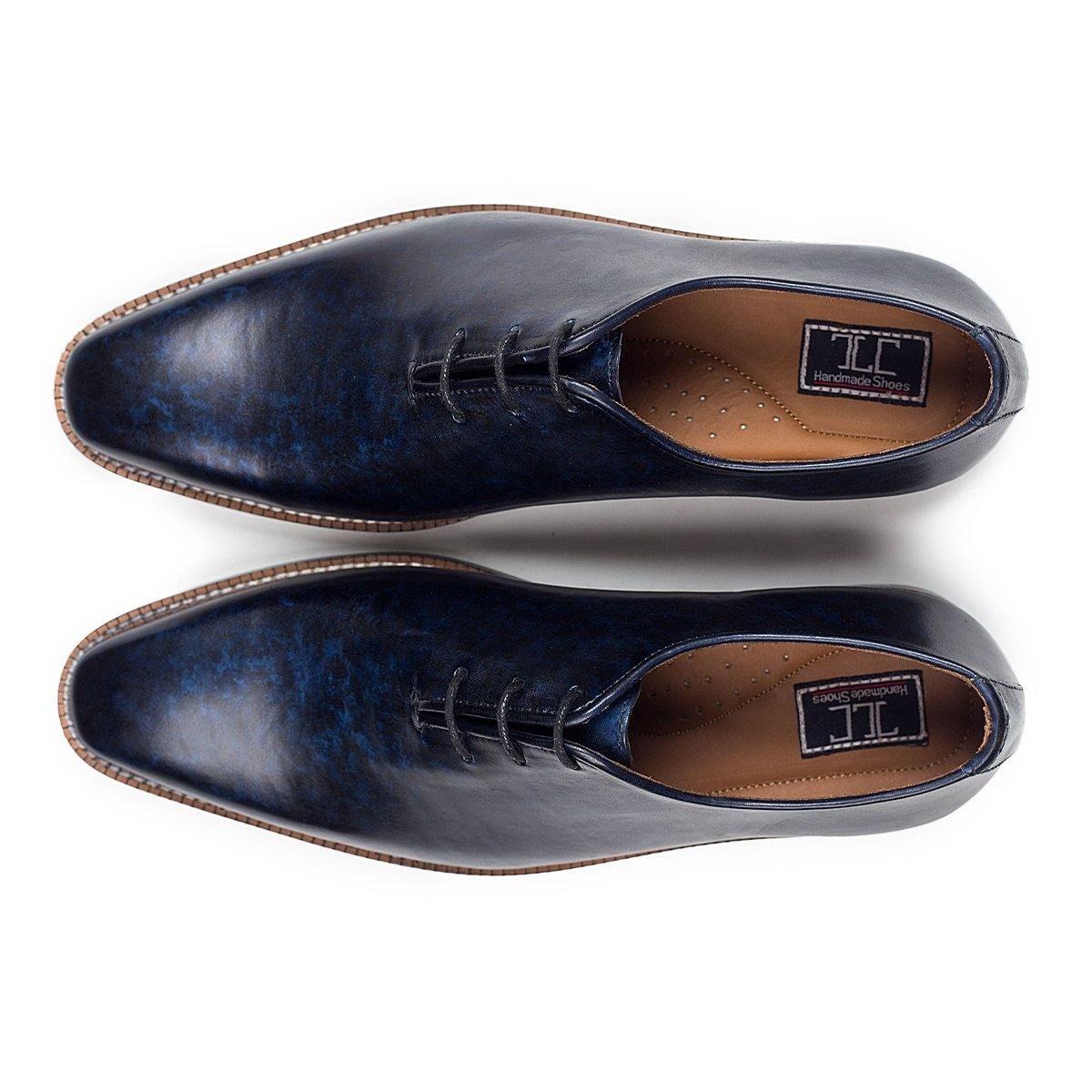 Lincoln - Wholecuts in Navy - TLC - The Leather Crafts
