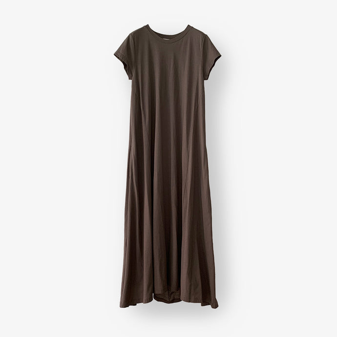 Backdrape Dress (Brown Khaki)