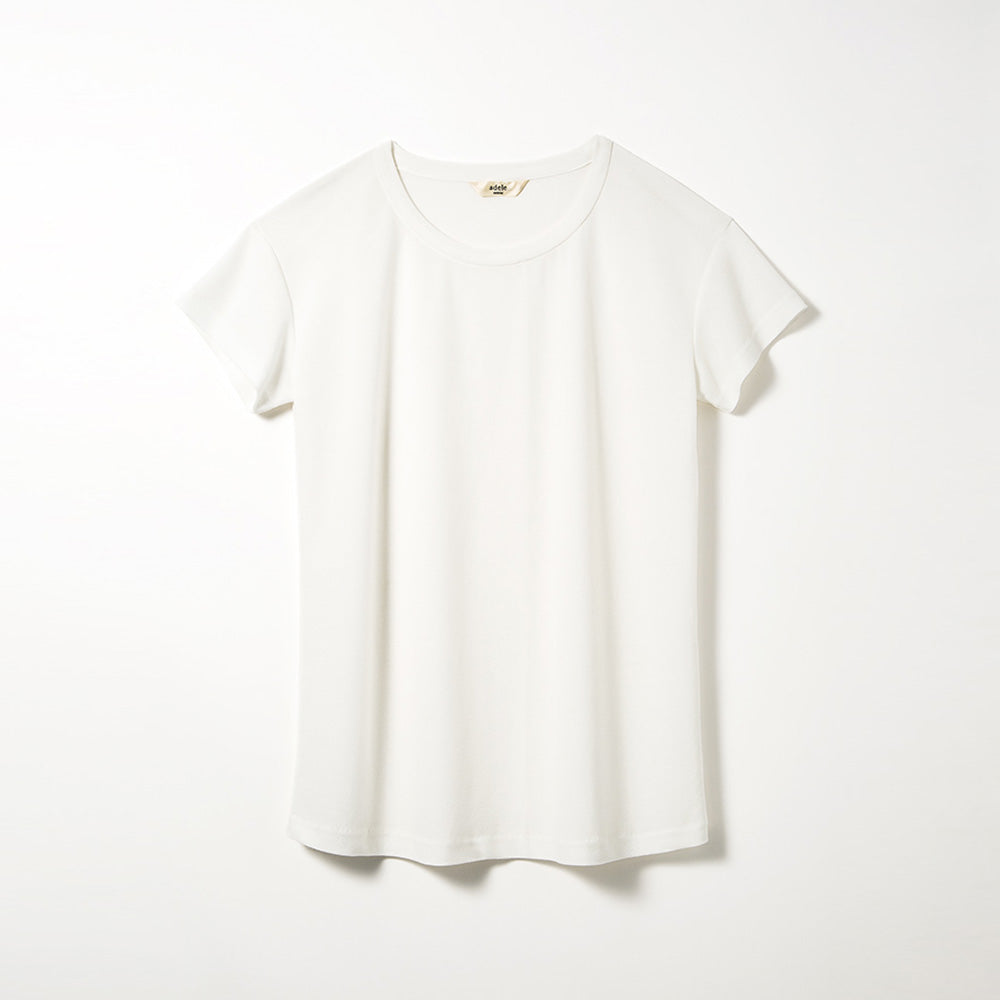 Crew Neck T-shirts (Off-white)