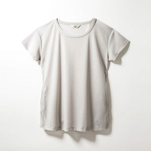 Crew Neck T-shirts (Pale Gray)