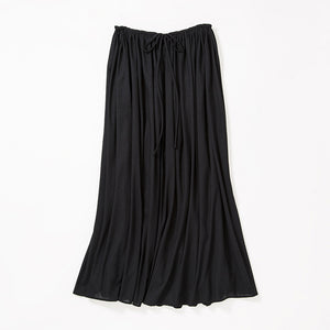 Maxi Length Skirt (Black)