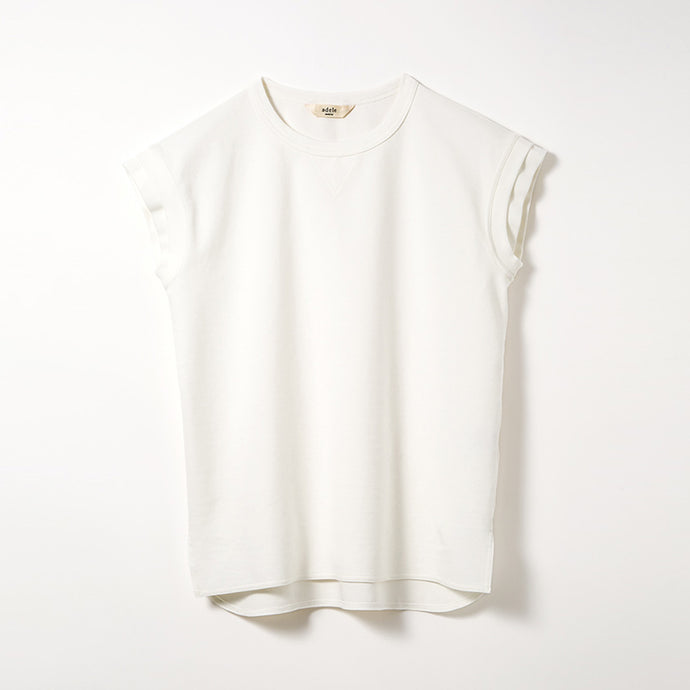 W Sleeve Jersey T-shirts (Off-white)