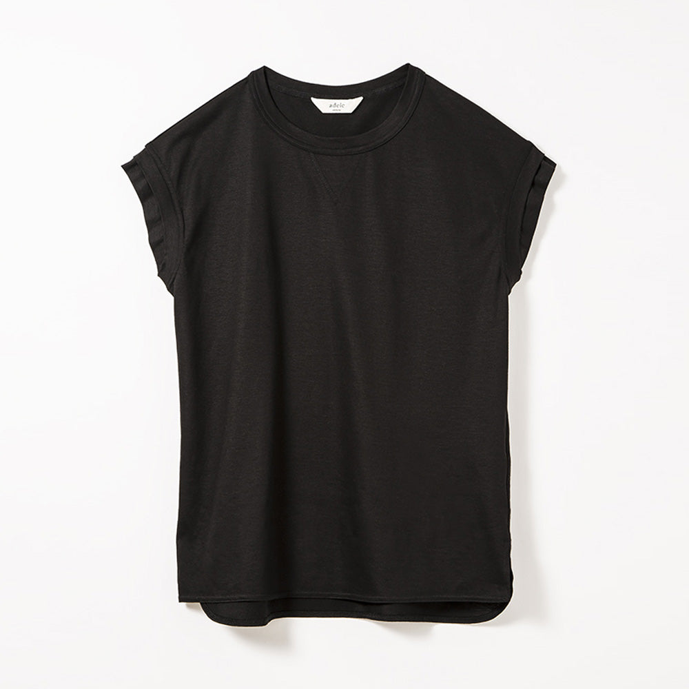 W Sleeve Tops (Black)