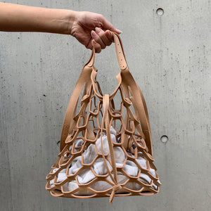 2-WAY MESH BAG (Caramel)