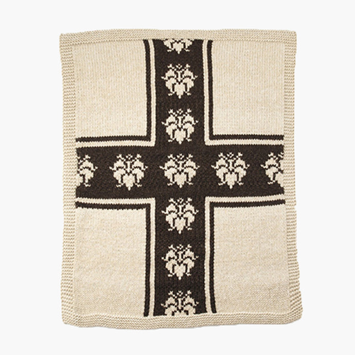Lily Cross Blanket