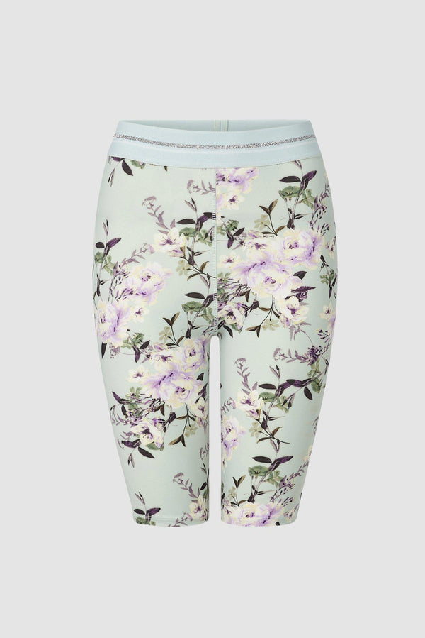 Shortleggings mit Blumen-Print