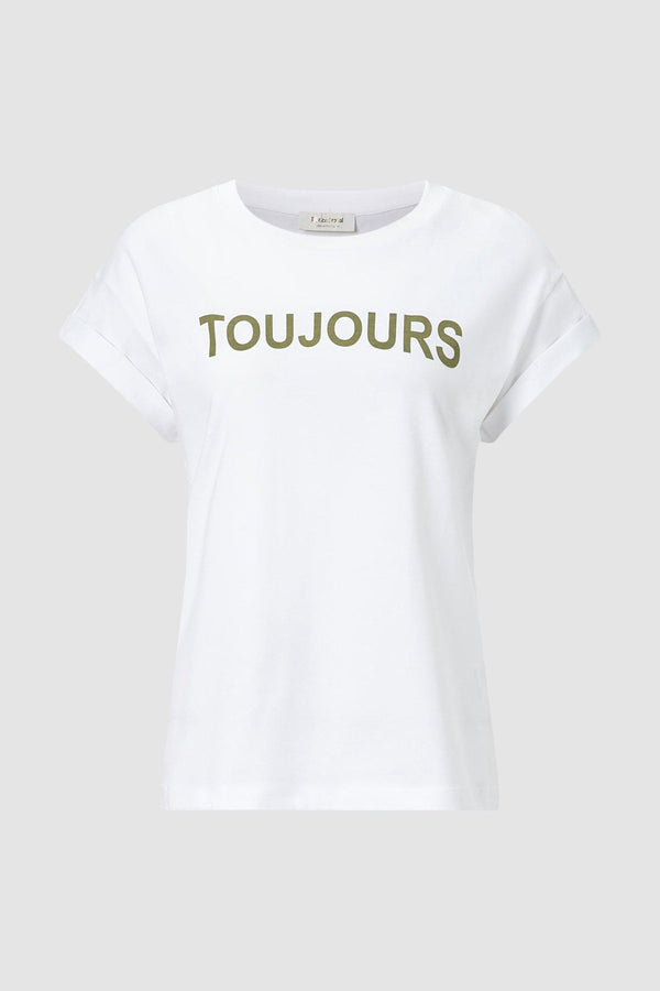 "Statement-Shirt ""TOUJOURS MON AMOUR"""