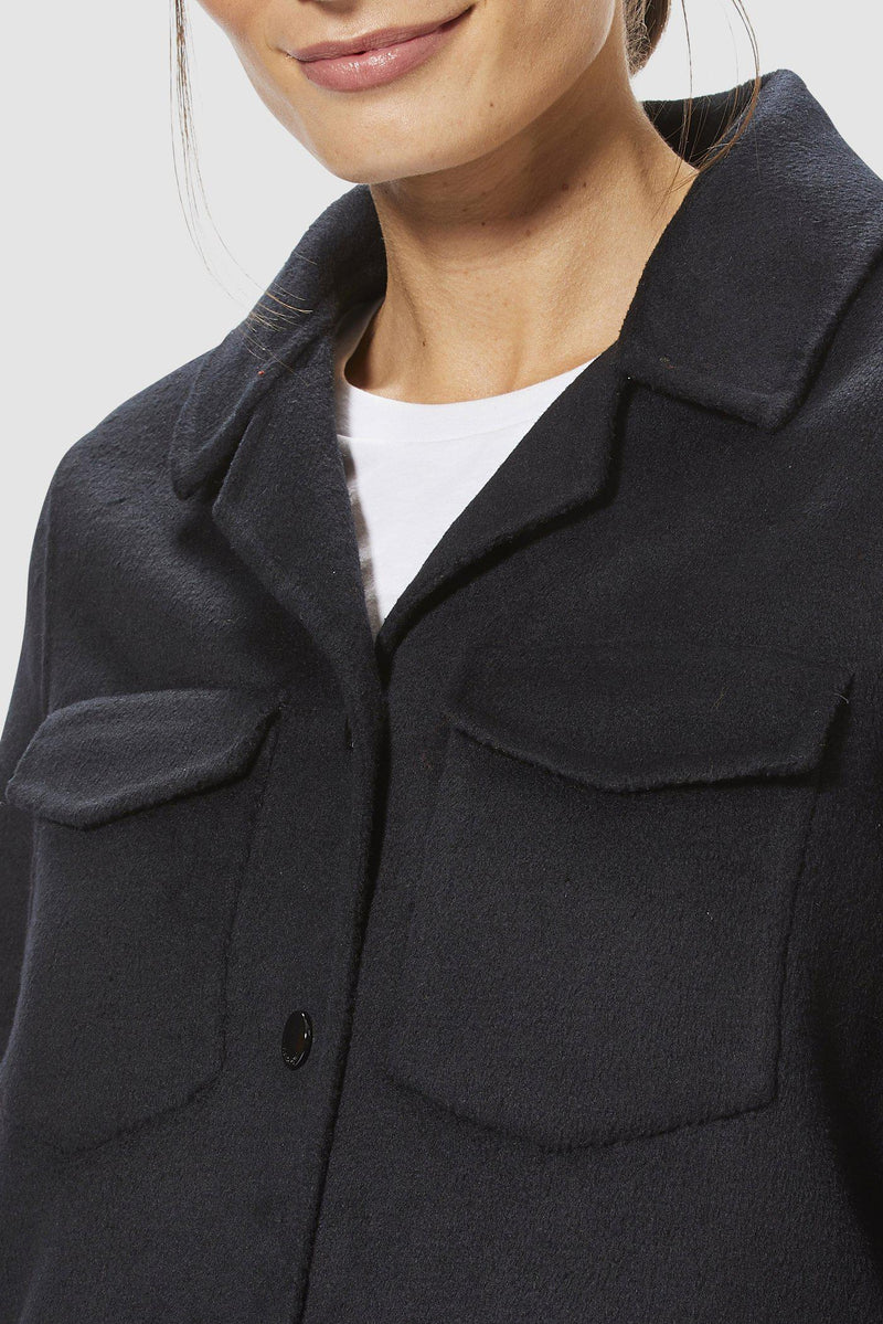 Rich & Royal - Shirtjacke - Detailansicht