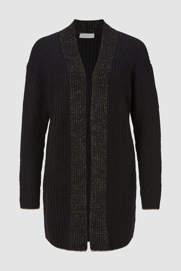 Rich & Royal - Cardigan mit Lurex-Akzenten - Büste