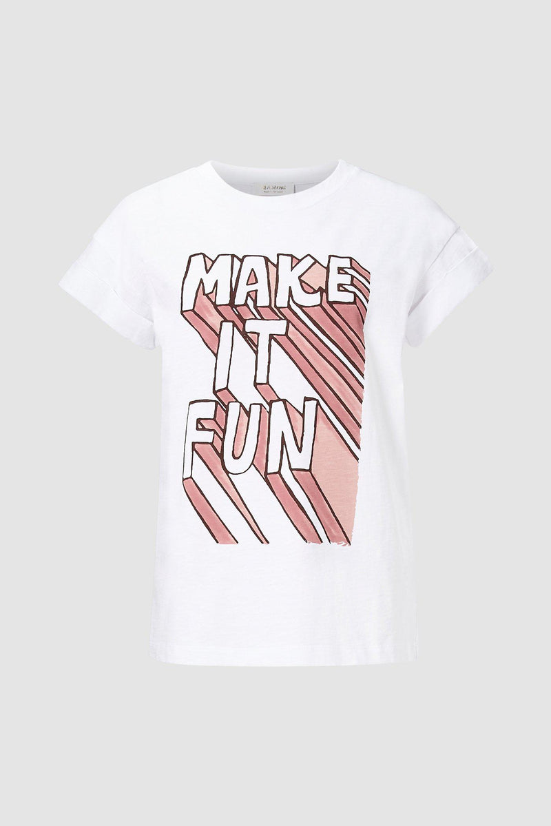 Rich & Royal - T-Shirt MAKE IT FUN  - Büste