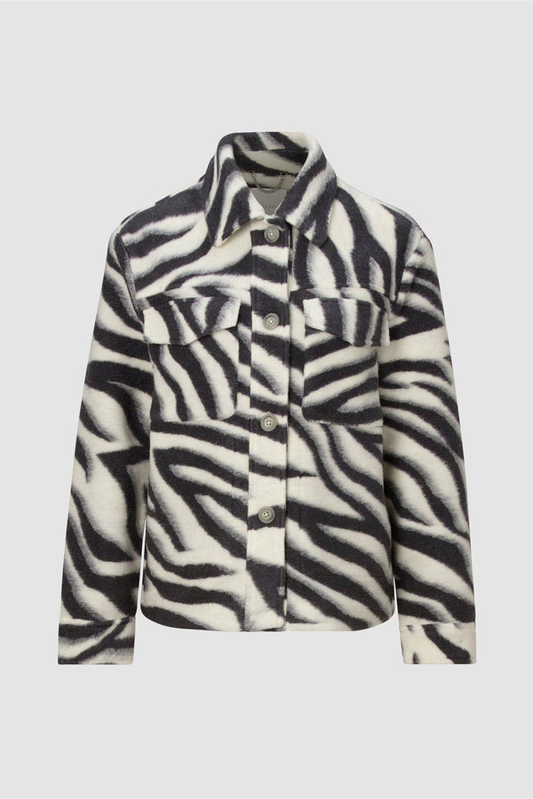 Rich & Royal - Shaket im Zebra-Look - Büste