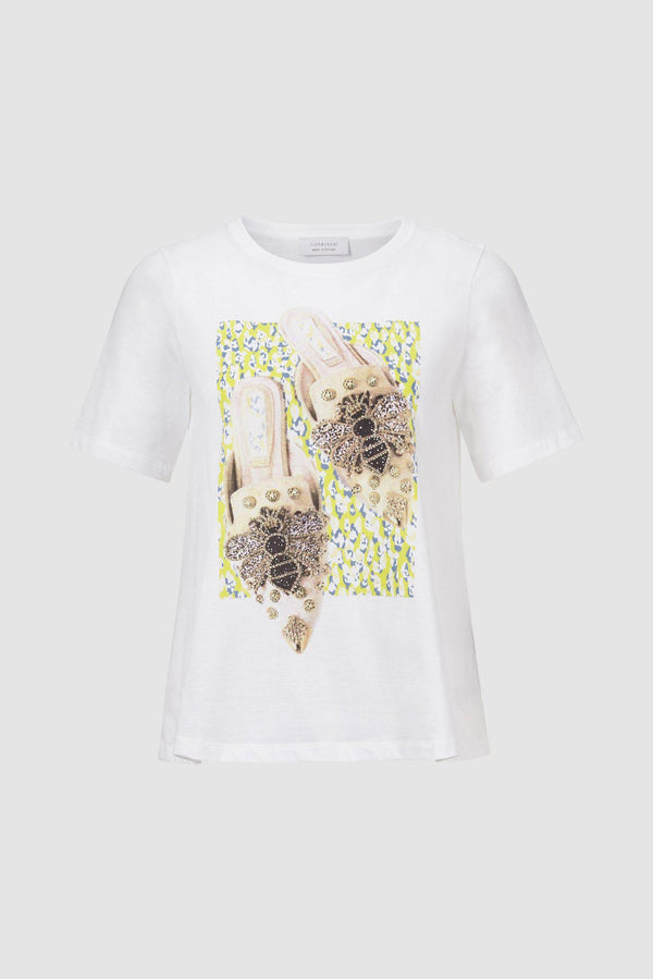 Rich & Royal - T-Shirt mit Print - Büste