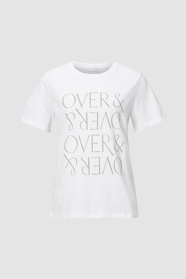 "Rich & Royal - T-Shirt ""OVER & OVER"" - Büste"