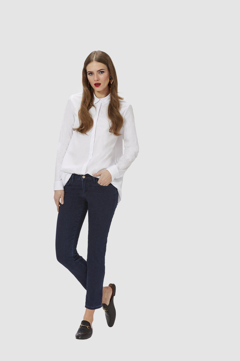 Cigaretten Jeans in Satin-Stretch-Collection-Rich & Royal