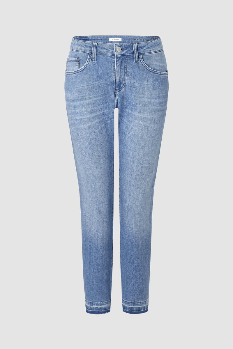 Statement-Jeans im verkürzten Relaxed-Fit