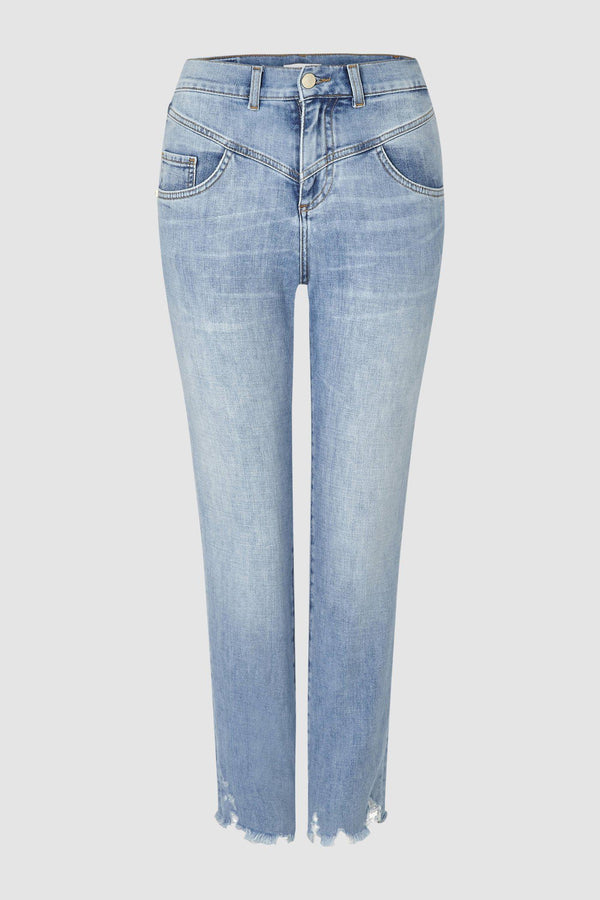 Cropped Relaxed Vintage-Jeans