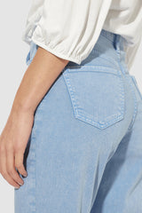 Rich & Royal - Girlfriend Color-Denim Jeans - Detailansicht