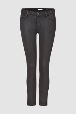 Rich & Royal - Midi Coated Denim Jeans - Büste