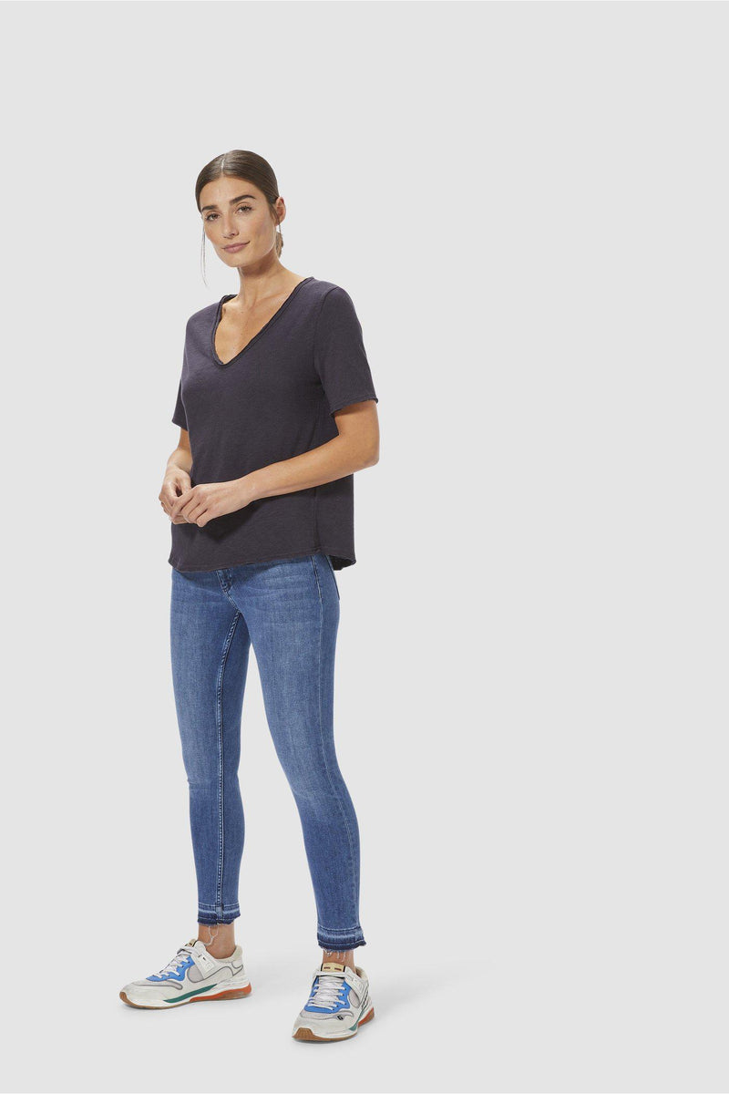 Midi Jeans in Satin-Stretch-Collection-Rich & Royal