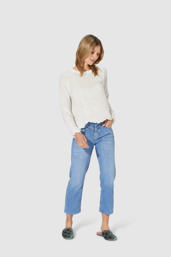 Vintage Straight Jeans im Classic-Look