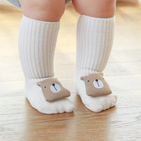 Alex + Nova 3D Animal Non-Slip Knee Socks - Alex + Nova