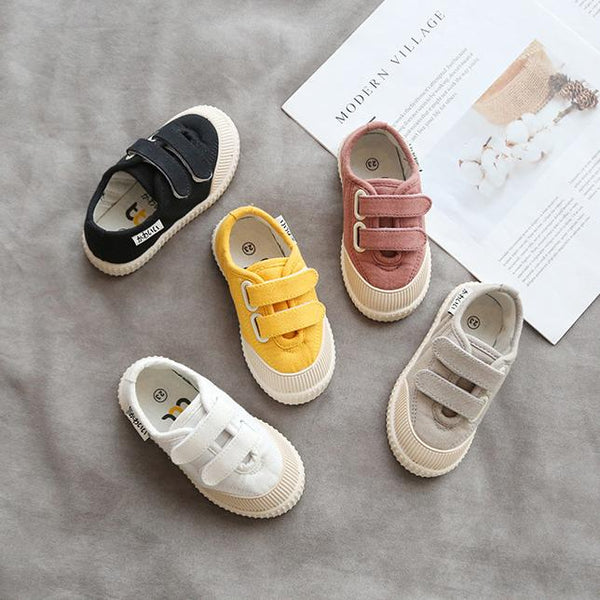Alex + Nova Austin Low Top Kids Canvas Shoes - Alex + Nova