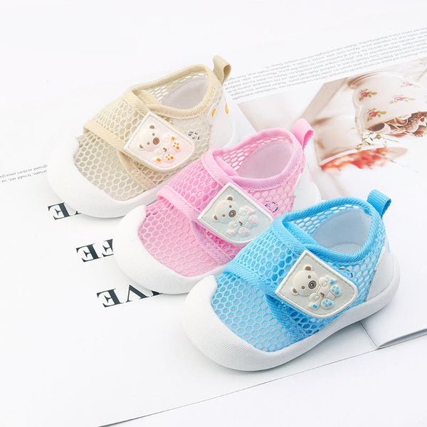 Alex + Nova Avery Summer Mesh First Walker Shoes - Alex + Nova