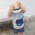 Alex + Nova Baby Whale Summer Set - Alex + Nova