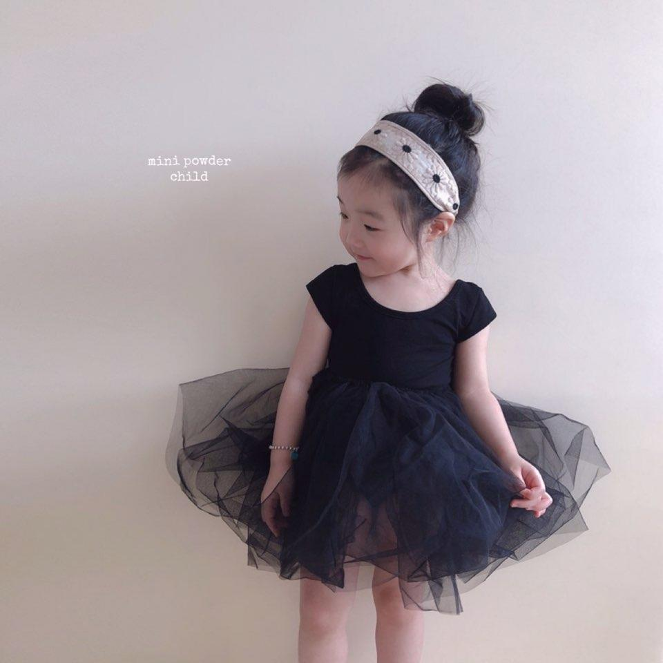 Mini Powder Ballet Chacha Suit with Removable Tutu Skirt - Alex + Nova