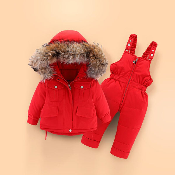 Alex + Nova Bally Hooded 2-Piece Snowsuit Set - Alex + Nova