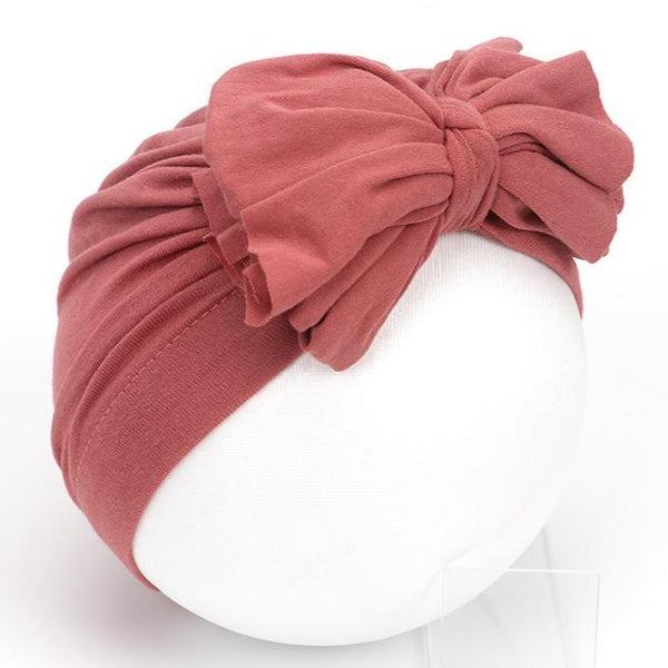Alex + Nova Big Bow Turban Hat - Alex + Nova