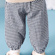 Alex + Nova Big Eyes Muslin Cotton Pants - Alex + Nova