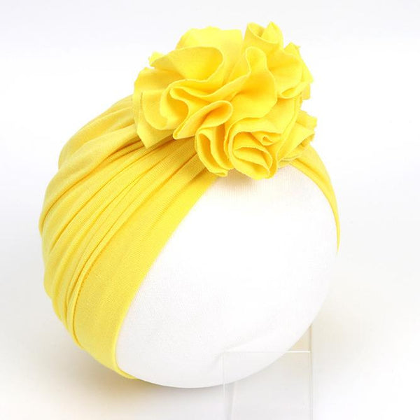 Alex + Nova Big Flower Turban Hat - Alex + Nova