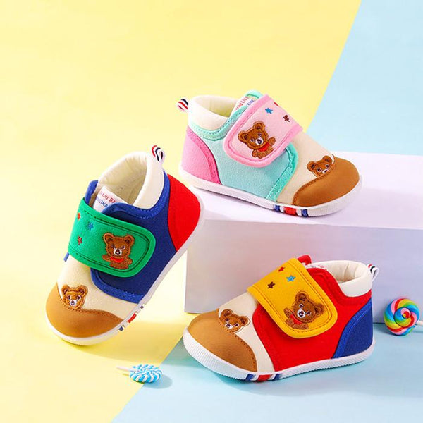 Alex + Nova Carter Color Block First Walker Shoes - Alex + Nova