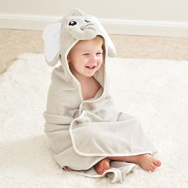 Alex + Nova Cartoon Newborn Baby Hooded Bath Towel - Alex + Nova