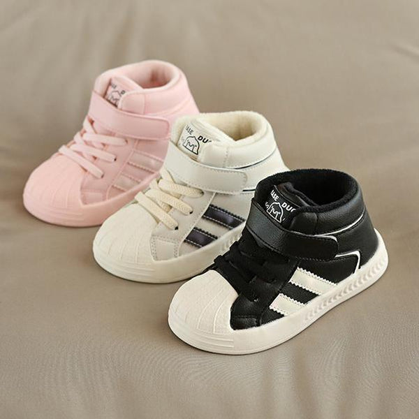 Alex + Nova Casper High Top Winter Plush Shoes - Alex + Nova