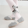 Alex + Nova 3D Plush Animal Patch Leggings - Alex + Nova