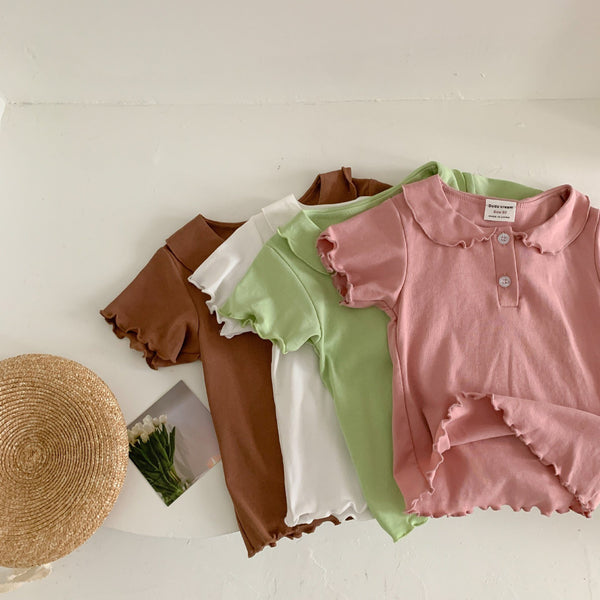 Alex + Nova Diann Doll Collar Top - Alex + Nova
