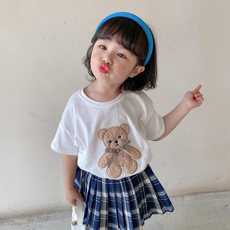 Alex + Nova Dudu Plush Teddy Bear Summer Tee - Alex + Nova