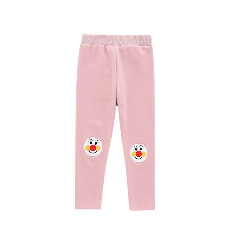 Alex + Nova Embroidered Anpanman Patch Leggings - Alex + Nova