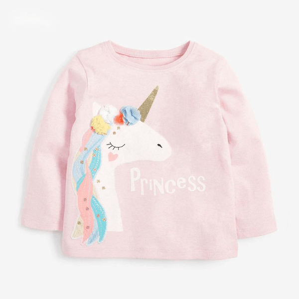 Alex + Nova Princess Unicorn Top - Alex + Nova