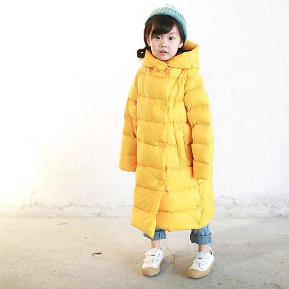 Alex + Nova Flynn Winter Long Down Coat - Alex + Nova