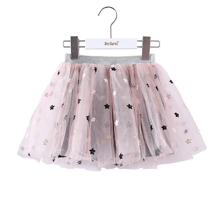 Alex + Nova Gigi Star Tulle Skirt with Inner Shorts - Alex + Nova