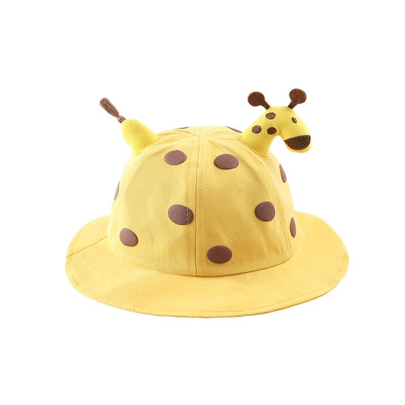 Alex + Nova Giraffe Baby Bucket Hat with Removable Face Shield - Alex + Nova