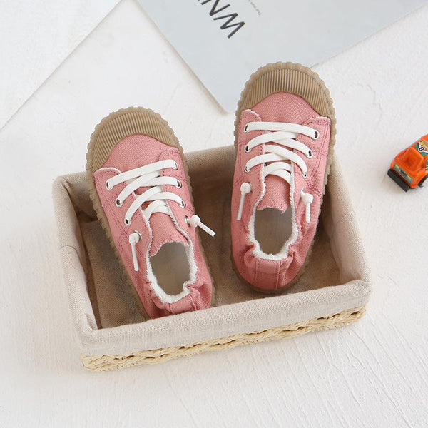 Alex + Nova Harry Canvas Elastic Shoes - Alex + Nova