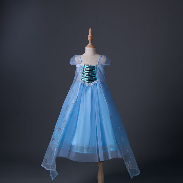 Alex + Nova Ice Queen 3D Snow Tulle Dress - Alex + Nova